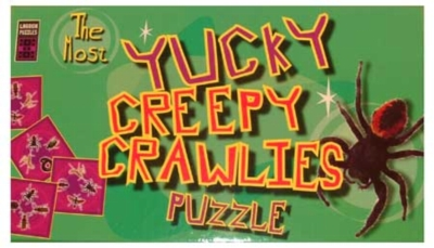 Kookiest Kreatures: Yucky Creepy Crawlers - Pattern Matching Puzzle