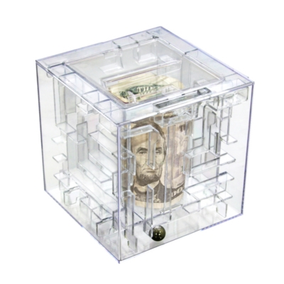 Money Maze Box Puzzle