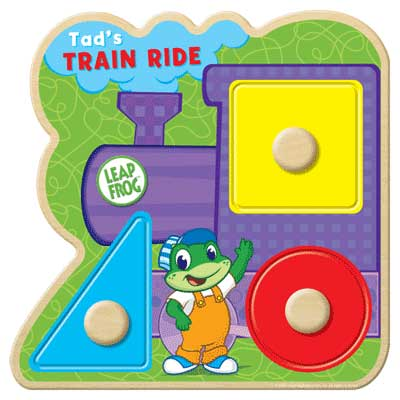 Leapfrog: Tad's Train Ride - 3pc Kids Puzzle by Masterpieces