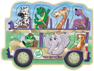 Leapfrog: Tad's Safari Bus - 6pc Kids Puzzle by Masterpieces