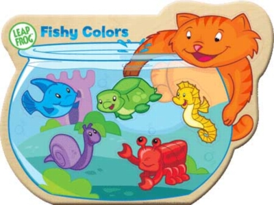 Leapfrog: Fishy Colors - 5pc Magnetic Puzzle by Masterpieces