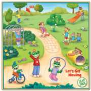 Leapfrog: Let's Get Moving - 9pc Kids Puzzle by Masterpieces