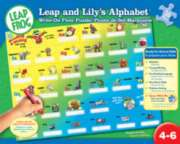 Leapfrog: Leap & Lily's Alphabet Write on Floor Puzzle - 36pc Floor Puzzle by Masterpieces