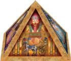 Mysteries of the Pyramid - 365pc 3D Pyramid Jigsaw Puzzle by Masterpieces