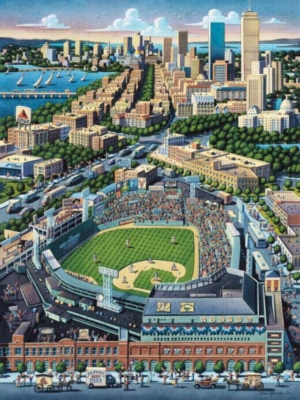 Fenway Park - 500pc Jigsaw Puzzle by Masterpieces