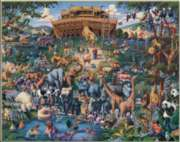 Noah's Ark - 1000pc SuitcaseJigsaw Puzzle by Masterpieces