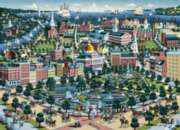 Boston, MA - 1000pc Suitcase Jigsaw Puzzle by Masterpieces