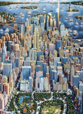 Jigsaw Puzzles - New York City