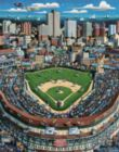 Wrigley Field, IL - 1000pc Suitcase Jigsaw Puzzle by Masterpieces