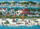 San Diego, CA - 1000pc Suitcase Jigsaw Puzzle by Masterpieces