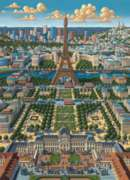 Paris - 1000pc Suitcase Jigsaw Puzzle by Masterpieces