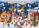 Frosty Delivery - 1000pc Suitcase Jigsaw Puzzle by Masterpieces