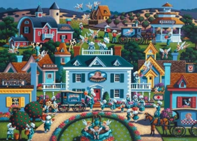 Sweet Shoppe - 1000pc Jigsaw Puzzle by Masterpieces