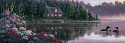 Beside Still Waters - 1000pc Panoramic Jigsaw Puzzle by Masterpieces