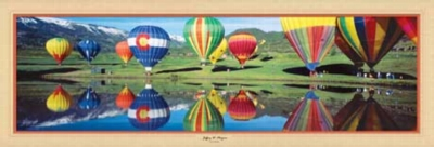 Hot Air Adventure - 1000pc Panoramic Jigsaw Puzzle by Masterpieces
