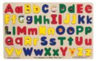 Upper & Lower Case Alphabet - 52pc Wooden Educational Children's Puzzle By Melissa & Doug