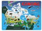 Canada Map - 12pc Chunky Wood Puzzle By Melissa & Doug