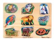 Jigsaw Puzzles For Kids - Chunky Wood - Canada Map