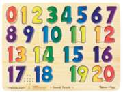 Numbers Jigsaw Puzzles for Kids