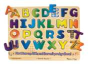 Alphabet - 26pc Wooden Sound Puzzle By Melissa & Doug
