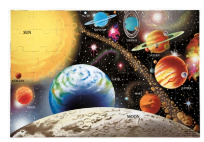 Melissa and Doug Floor Jigsaw Puzzles For Kids - Solar System
