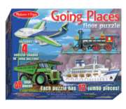 Going Places - 48pc Floor Puzzle By Melissa & Doug