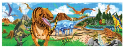 Land of Dinosaurs - 48pc Floor Puzzle For Kids By Melissa & Doug