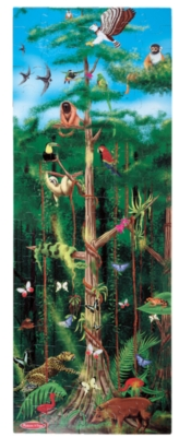 Rain Forest - 100pc Floor Puzzle By Melissa & Doug
