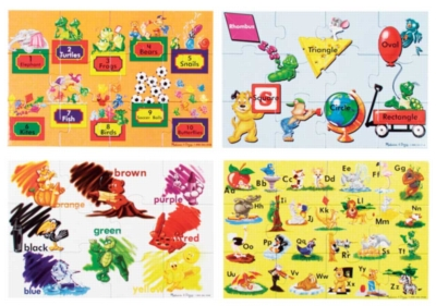 Alphabet Jigsaw Puzzles for Kids - Beginning Skills