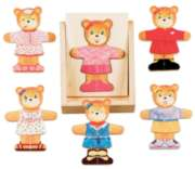 Bear Dress-Up - 18pc Wooden Puzzle By Melissa & Doug