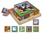 Farm Cubes - 16pc Block Puzzle By Melissa & Doug
