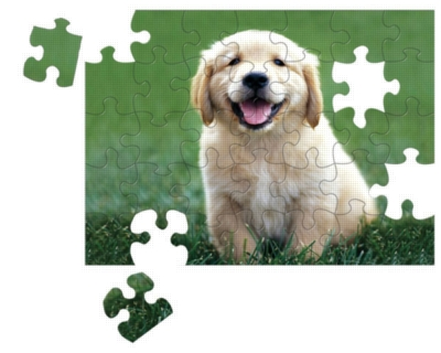 Melissa and Doug Jigsaw Puzzles for Kids - Golden Retriever Puppy
