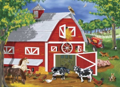 Melissa and Doug Jigsaw Puzzles for Kids - Barnyard