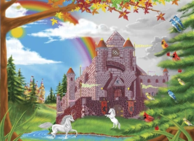 Melissa and Doug Jigsaw Puzzles for Kids - Enchanted Castle