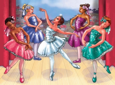 Melissa and Doug Jigsaw Puzzles for Kids - Ballet Recital
