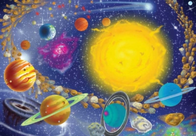 Melissa and Doug Jigsaw Puzzles for Kids - Solar System