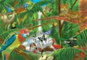 Rain Forest - 200pc Jigsaw Puzzle By Melissa & Doug
