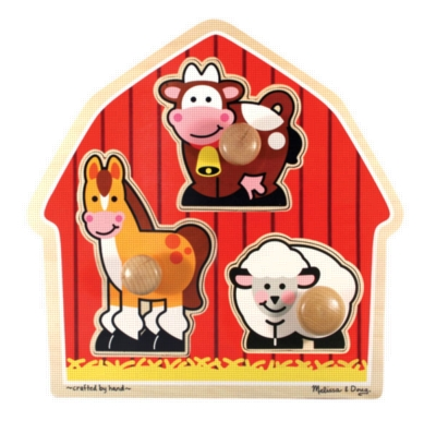 Wood Puzzles - Barnyard Animals