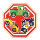 Stop Sign Vehicles - 3pc Jumbo Knob Puzzle By Melissa & Doug