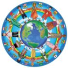 Children Around the World - 48pc Shaped Floor Puzzle By Melissa & Doug