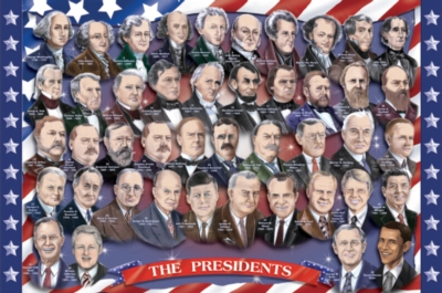 American Presidents - 100pc Floor Puzzle By Melissa & Doug