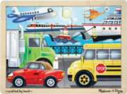 On the Go - 12pc Wooden Jigsaw Puzzle By Melissa & Doug