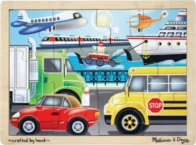 Melissa and Doug Jigsaw Puzzles for Kids - On the Go