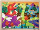 Prehistoric Sunset - 24pc Wooden Jigsaw Puzzle By Melissa & Doug
