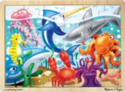 Under the Sea - 24pc Wooden Jigsaw Puzzle For Kids By Melissa & Doug