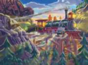 Eagle Canyon Railway - 200pc Jigsaw Puzzle By Melissa & Doug