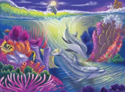 Melissa and Doug Jigsaw Puzzles for Kids - Dolphin Cove