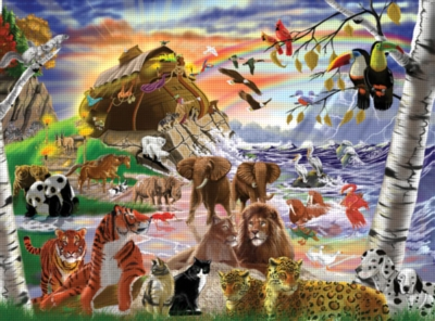 Melissa and Doug Jigsaw Puzzles for Kids - After the Flood