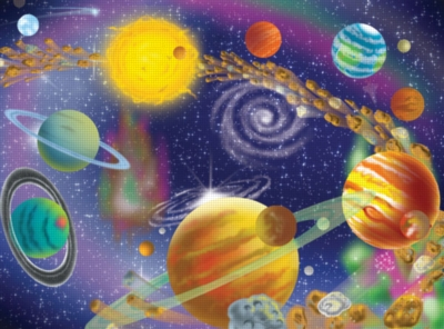 Melissa and Doug Jigsaw Puzzles for Kids - The Infinite Cosmos