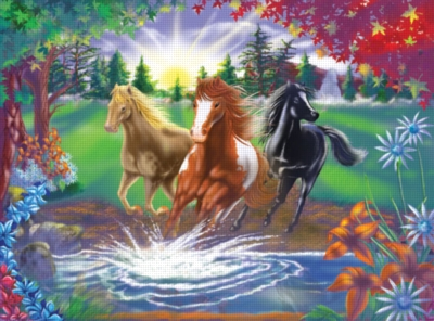 Melissa and Doug Jigsaw Puzzles for Kids - River Run